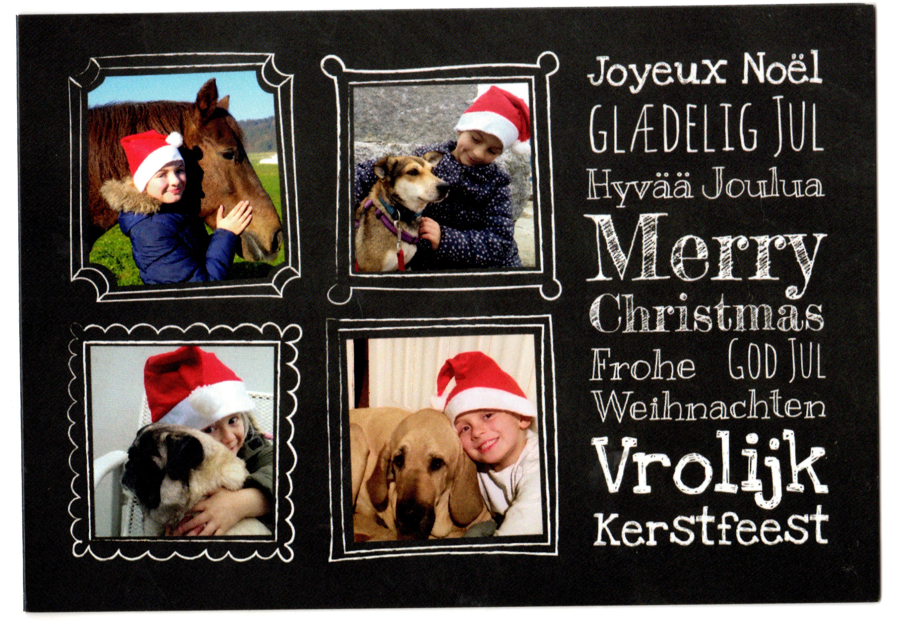 Sheila Weihnachtskarte