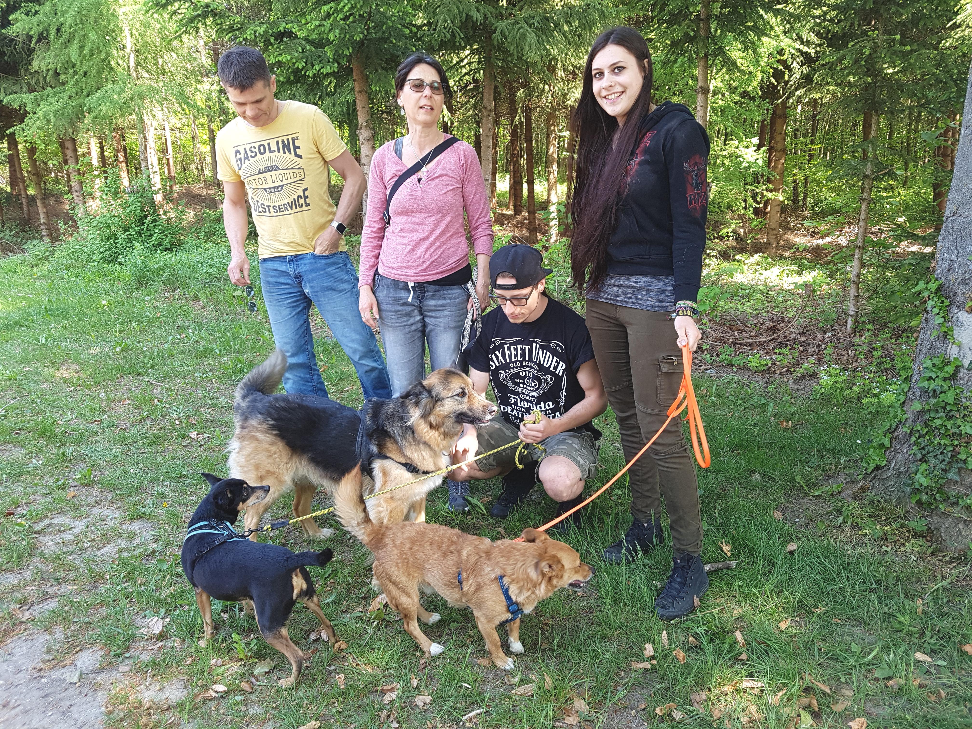Wendy  und Familie